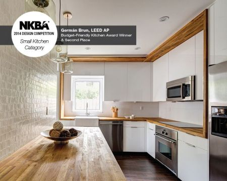 NKBA 2014 Design Competition Small Kitchen Second Place And Budget Friendly Kitchen